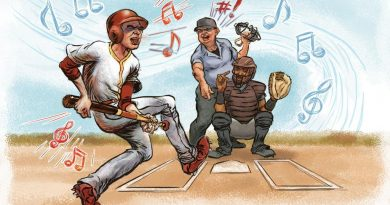 baseball and music