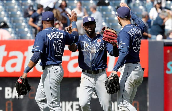 MLB Power Rankings Tampa Bay Rays First
