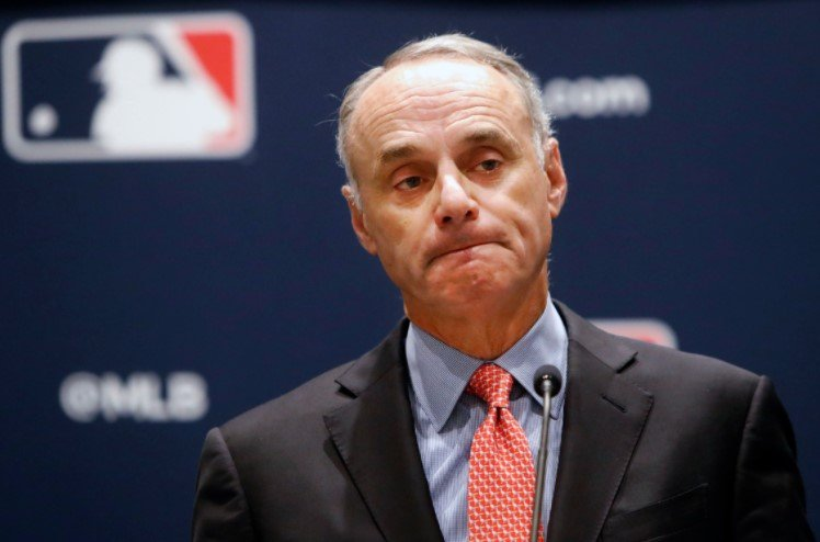MLB Going Back Says Rob Manfred