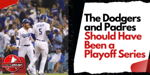 The Dodgers and Padres